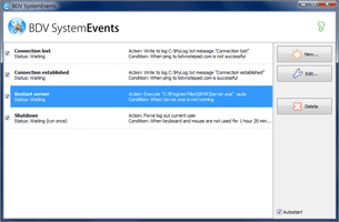 Open BDV SystemEvents screen shot in a separate window